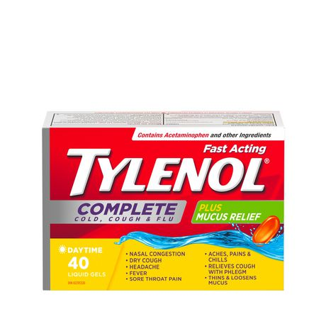Tylenol Complete Cold Cough And Flu Liquid Gels Dosage