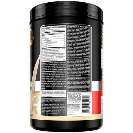 Six Star Elite Series Whey Protein plus Vanilla Cream Powder - image 3 of 4