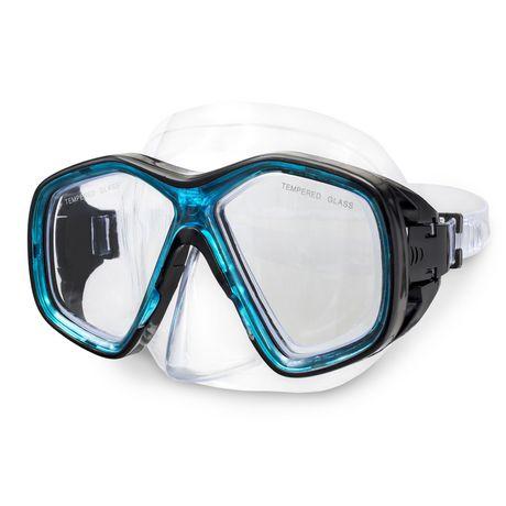 Dolfino Pro Makena Adult Dive Mask - Blue / Black - image 1 of 5