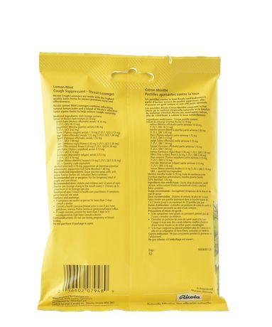 Pastilles pour soulager le mal de gorge Ricola à saveur de citron-menthe - image 3 de 6