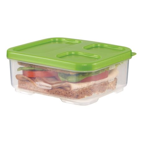 Rubbermaid LunchBlox Sandwich Storage Container, Green - image 3 of 4