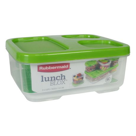 Rubbermaid LunchBlox Sandwich Storage Container, Green - image 2 of 4