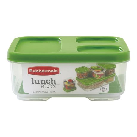 Rubbermaid LunchBlox Sandwich Storage Container, Green - image 1 of 4