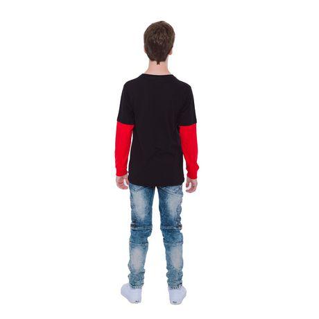 Boy's Mini Pop Kids Born To Make Music Long Sleeve T-Shirt - image 3 of 7