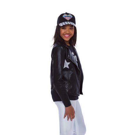 Girls Mini Pop Kids Star Patch Jacket - image 2 of 8