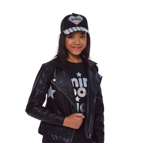 Girls Mini Pop Kids Star Patch Jacket - image 5 of 8