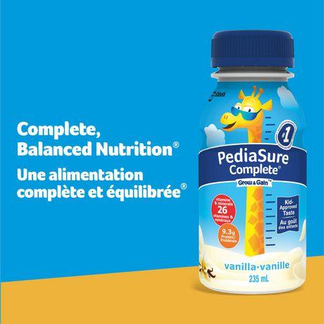 PediaSure Complete, nutritional supplement, 4 x 235 mL, Vanilla - image 2 of 7