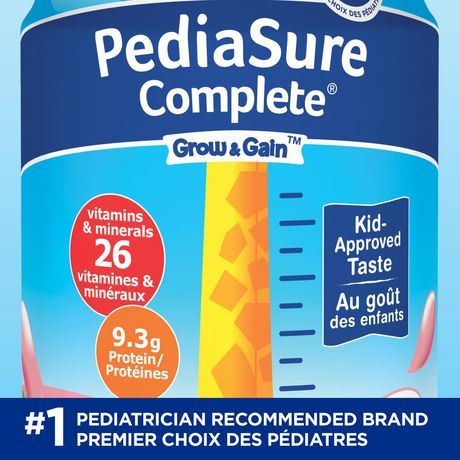 PediaSure Complete, nutritional supplement, 4 x 235 mL, Strawberry - image 3 of 7