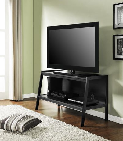 """Lawrence Ladder TV Stand for TVs up to 45"""", Black - image 1 of 7"""