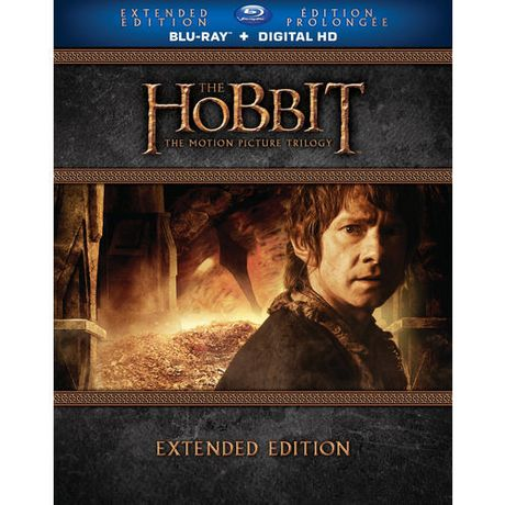 New Line Video The Hobbit: The Motion Picture Trilogy (Extended Edition) (Blu-Ray + Digital Hd With Ultraviolet) (Bilingual)