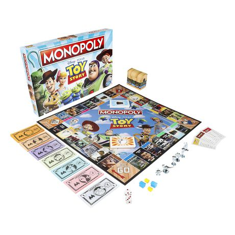 Monopoly Toy Story Board Game Family and Kids - image 2 of 9