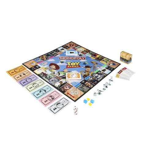 Monopoly Toy Story Board Game Family and Kids - image 3 of 9