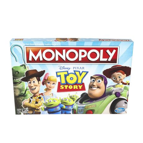 Monopoly Toy Story Board Game Family and Kids - image 1 of 9