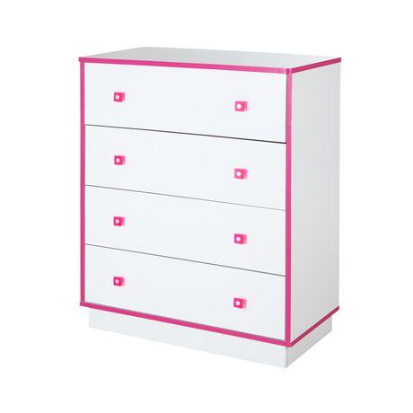 Commode à 4 tiroirs de la collection Logik de Meubles South Shore - image 3 de 8