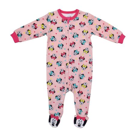 Disney Minnie Mouse Pink Costume Bodysuit for baby sizes 6-24 months