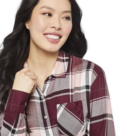 George Women's Core Button-Up Shirt - image 4 of 6