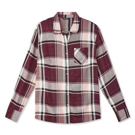 George Women's Core Button-Up Shirt - image 6 of 6