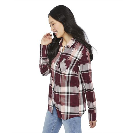 George Women's Core Button-Up Shirt - image 2 of 6