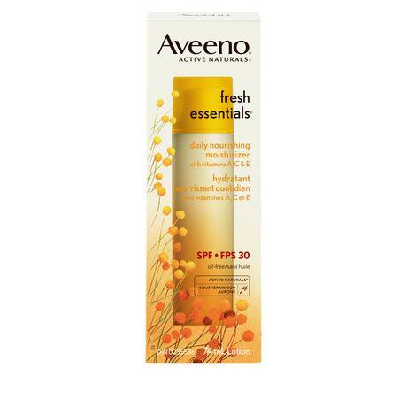 Aveeno 174 Fresh Essentials 174 Daily Nourishing Moisturizer Lotion Spf 30 Walmart Canada