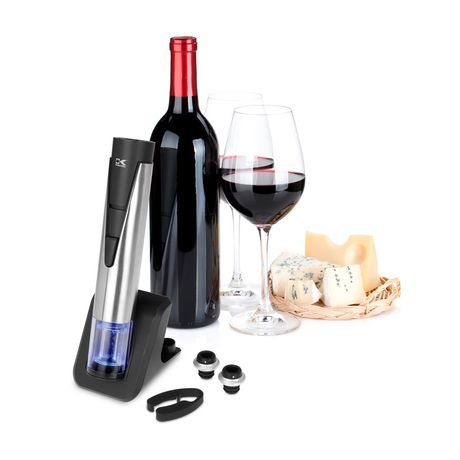 Kalorik 2-in-1 Wine Opener and Preserver, Stainless Steel - image 8 of 8