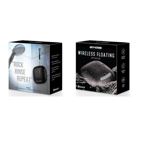 Haut-parleur bluetooth Art+Sound pour le bain et la douche, résistant à l'eau - image 4 de 5