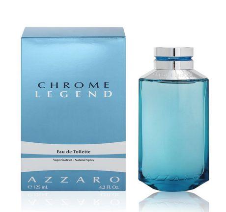 Azzaro Chrome Legend Eau De Toilette Vaporisateur Pour Hommes 125 Ml