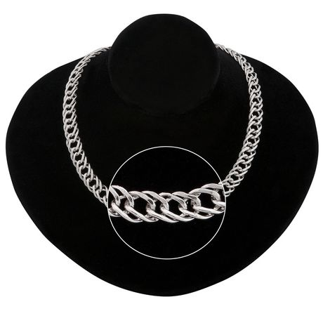 """Sterling Silver Curb Chain - 20"""" - image 1 of 1"""