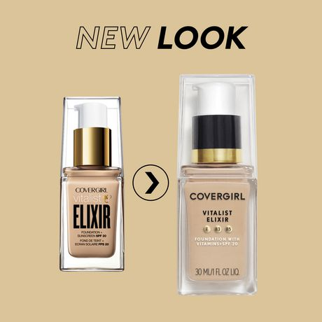 COVERGIRL Vitalist Elixir Foundation with Spf 20 - image 2 of 3