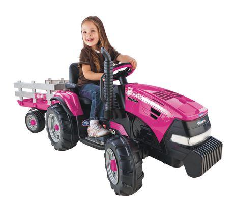 Jouet v hicule porteur tracteur magnum case ih de peg for Motorized vehicles for 12 year olds