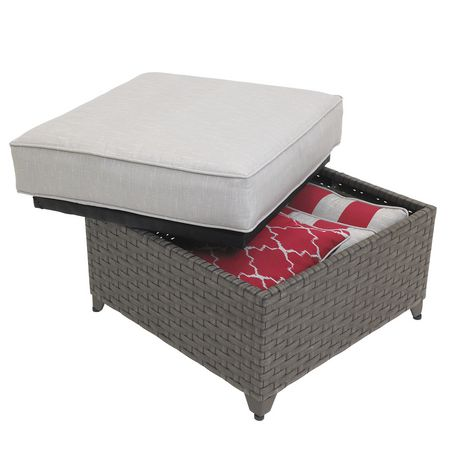 hometrends Rushreed 3-Piece Wicker Sectional Sofa Patio Set - image 6 of 8