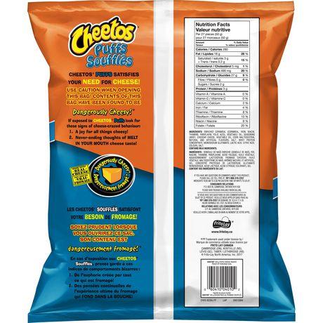 Soufflés grignotines à saveur de fromage de Cheetos format familial - image 4 de 5