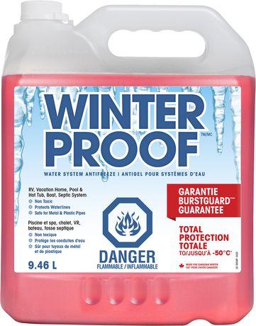 WinterProof Water System Antifreeze 9.46L - image 1 of 1