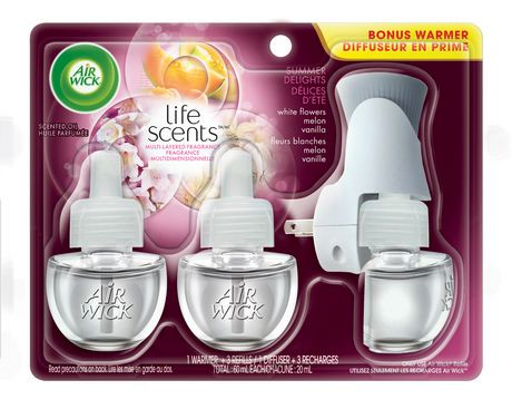 Walmart Oil Change Price >> Air Wick® Life Scents Scented Oil Summer Air Freshener ...