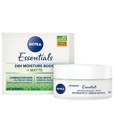 Nivea Essentials 24h Moisture BOOST + Matte Day Cream Spf 15, 50ml - image 1 of 3