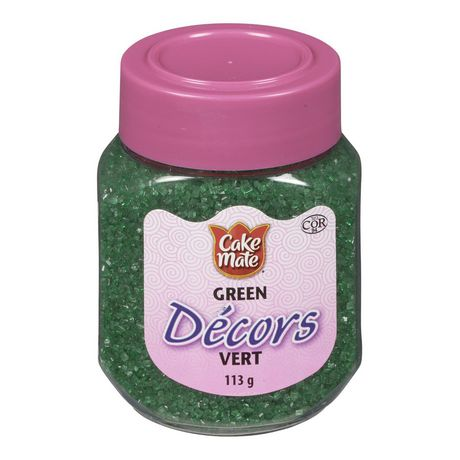 Cake Mate, Decorating with Ease, Decors Sprinkles, Green, 113g - image 1 de 1
