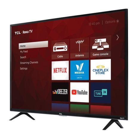 "TCL 43"" CLASS 4-SERIES 4K UHD HDR ROKU SMART TV, 43S421-CA - image 2 of 9"