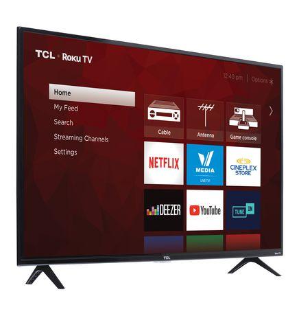 "TCL 43"" CLASS 4-SERIES 4K UHD HDR ROKU SMART TV, 43S421-CA - image 3 of 9"