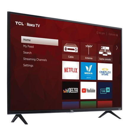 "TCL 40"" CLASS 3-SERIES HD LED ROKU SMART TV, 40S321-CA - image 3 of 9"