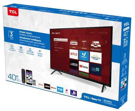 "TCL 40"" CLASS 3-SERIES HD LED ROKU SMART TV, 40S321-CA - image 7 of 9"