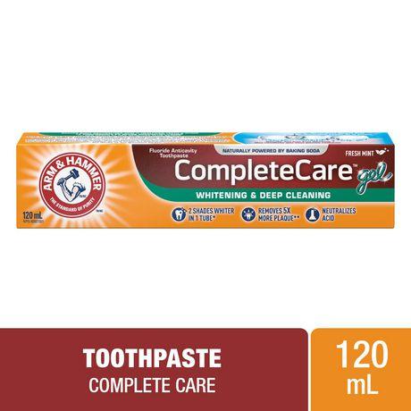 Dentifrice ARM & HAMMER(MC) Soins complets gel, 120 ml - image 1 de 2