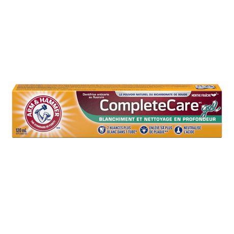 Dentifrice ARM & HAMMER(MC) Soins complets gel, 120 ml - image 2 de 2
