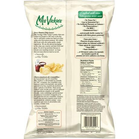 Miss Vickie 39 S Sea Salt Malt Vinegar Kettle Cooked Potato
