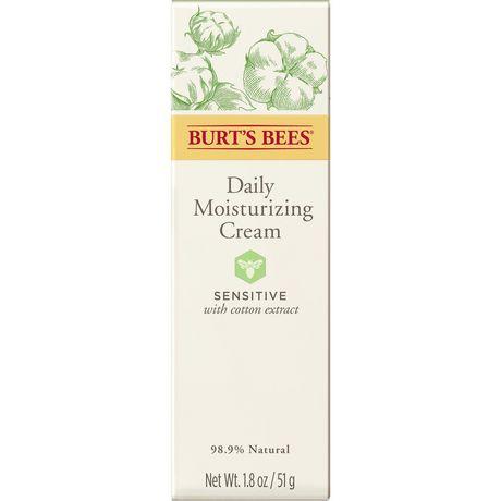 Burt's Bees Sensitive Daily Moisturizing Cream, 50g - image 7 of 9