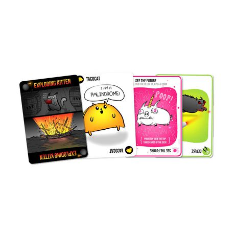 Exploding Kittens Card Game - image 3 of 3