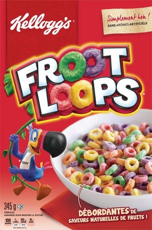 kellogg s froot loops cereal 345g walmart canada