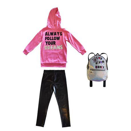 Girls Mini Pop Kids Always Follow Your Dreams Hoodie - image 7 of 7