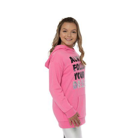 Girls Mini Pop Kids Always Follow Your Dreams Hoodie - image 2 of 7