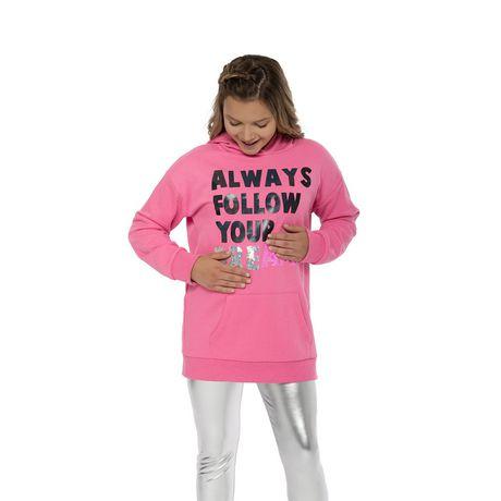 Girls Mini Pop Kids Always Follow Your Dreams Hoodie - image 4 of 7