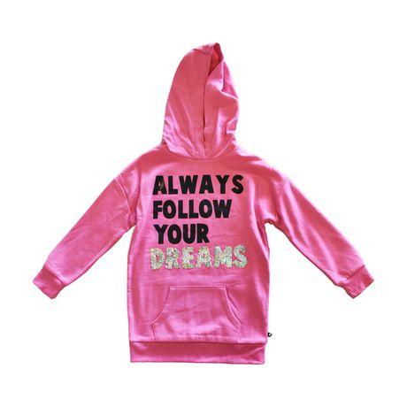 Girls Mini Pop Kids Always Follow Your Dreams Hoodie - image 5 of 7