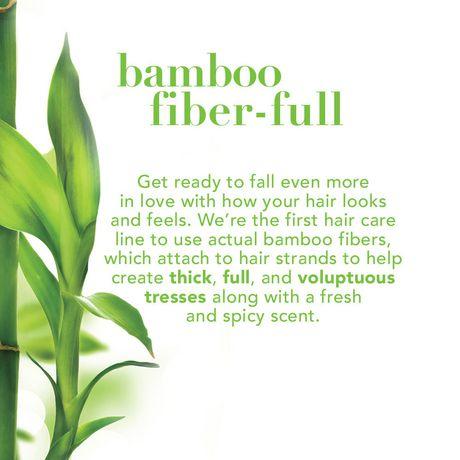 OGX Strength & Body + Bamboo Fiber-full Conditioner - image 3 of 4